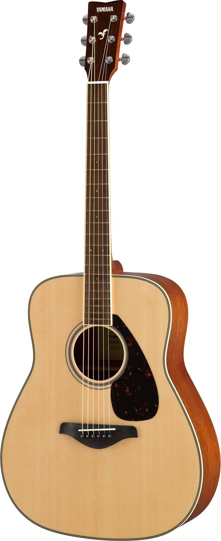 yamaha fg820 nt dreadnought akustik gitarre inkl gigbag. Black Bedroom Furniture Sets. Home Design Ideas