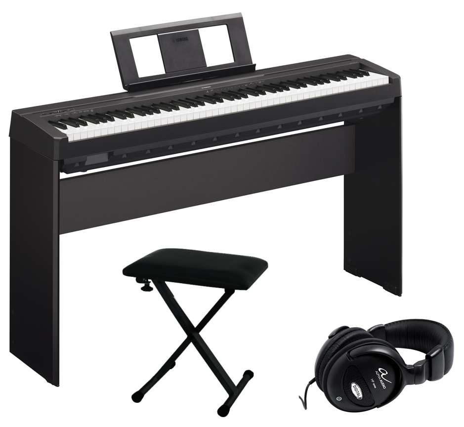 yamaha p 45 b personal bundle 2 stagepiano inkl l85. Black Bedroom Furniture Sets. Home Design Ideas