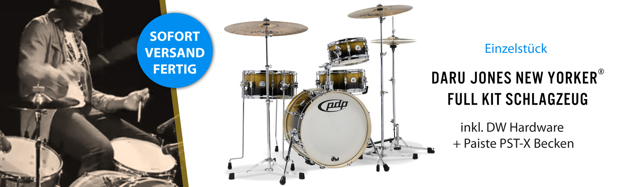 PDP by DW Concept Daru Jones New Yorker Full Kit