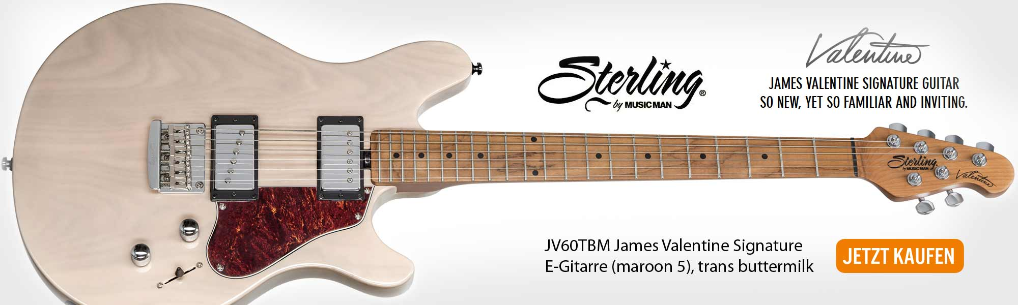 STERLING by Music Man JV60TBM James Valentine Signature