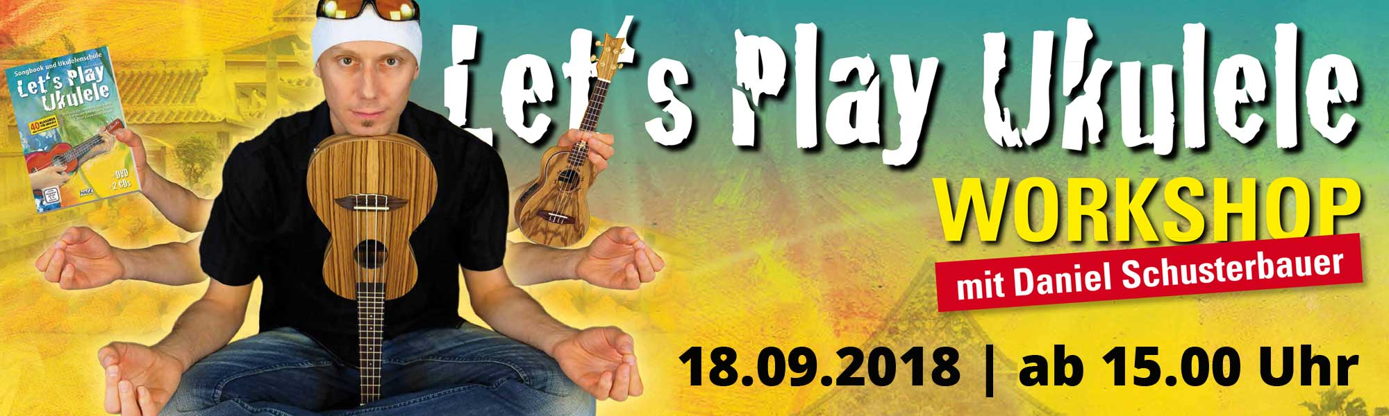 Let's play Ukulele – Anfänger-Workshop Ukulele