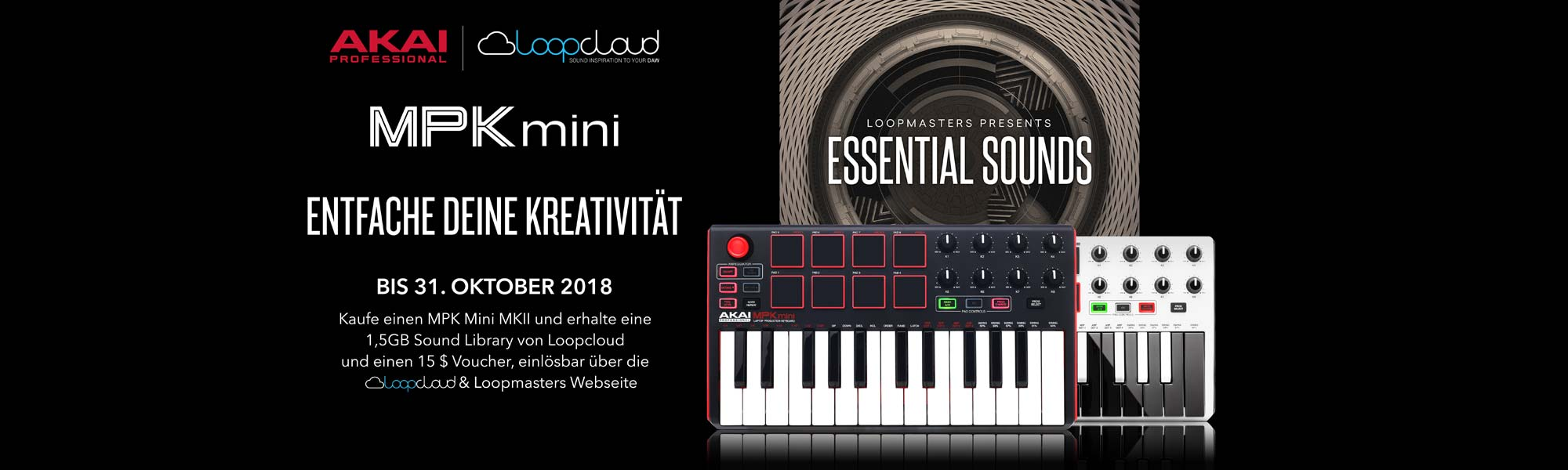 Akai Professional / Loopcloud Promotion
