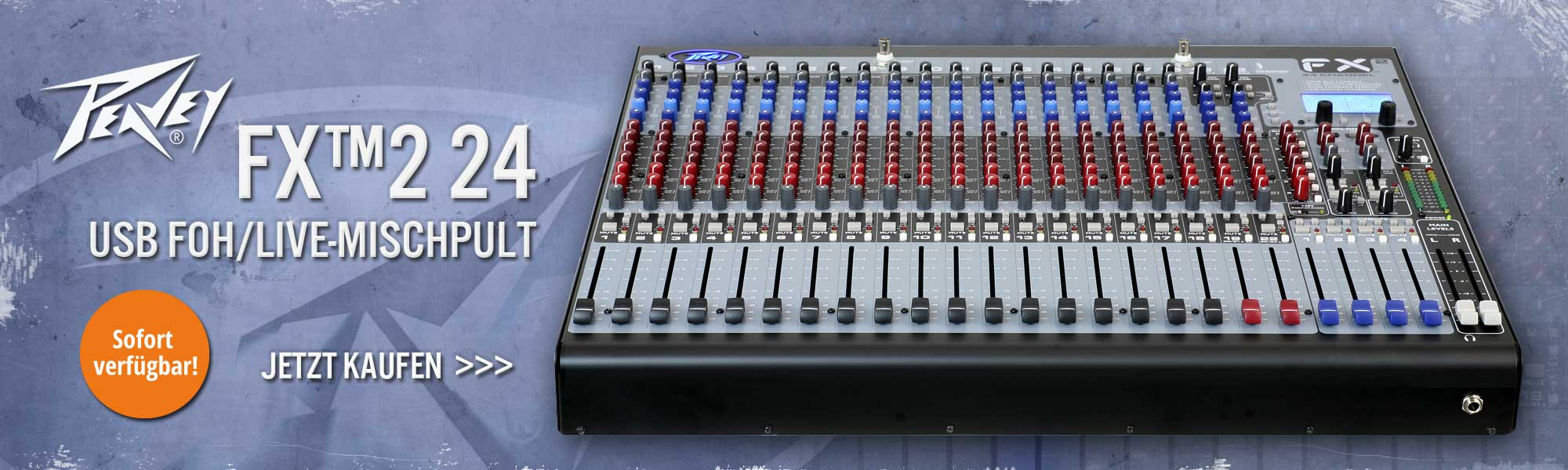 PEAVEY FX-224 USB FOH/Live-Mischpult